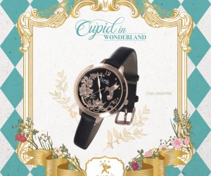 Cupid in Wonderland is coming to 2018 Watch & Clock Fair
