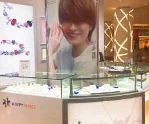 The Chengdu City Evergrande Plaza Cupid Memory shop-in-shop was officially opened